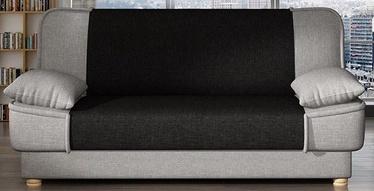 Dīvāngulta Platan Maxim 04 Grey/Black, 188 x 85 x 90 cm