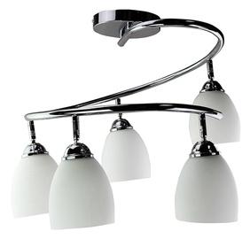 Gaismeklis HR CTK215-5B 5x40W E27 White/Chrome