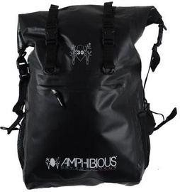 Amphibious Overland Waterproof Backpack 30L Black