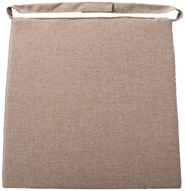 Home4you Wicker 2-3 Chair Pad 48x46x3cm Beige