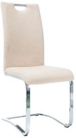 Ēdamistabas krēsls Signal Meble H790 Chrom/Beige