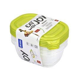 Rotho Hermetic Box 0.5l 4pcs Green