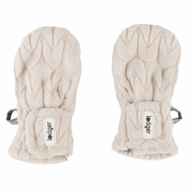 Cimdi Lodger Empire Fleece, balta, 12-24 mēn, 2 gab.