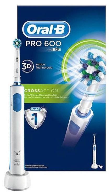 Электрическая зубная щетка Braun Oral-B PRO 6000 White