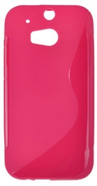 Telone Back Case S-Case for HTC One M8 Pink