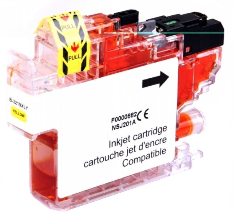 Uprint Cartridge for Brother 17ml Yellow