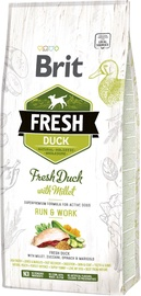 Brit Adult Fresh Duck With Millet Run & Work 12kg