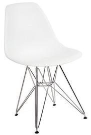 Ēdamistabas krēsls Signal Meble Rope White, 1 gab.