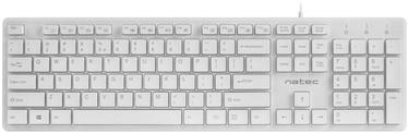 Natec Discus Keyboard US White