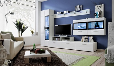 Dzīvojamās istabas mēbeļu komplekts ASM Krone IV White