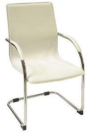 Ēdamistabas krēsls Verners Kansas White 557948, 1 gab.