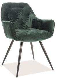 Ēdamistabas krēsls Signal Meble Cherry Velvet Green 78