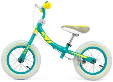 Балансирующий велосипед Milly Mally Young, синий, 12″
