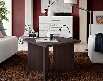 Kafijas galdiņš ASM Piko Wenge, 600x600x450 mm
