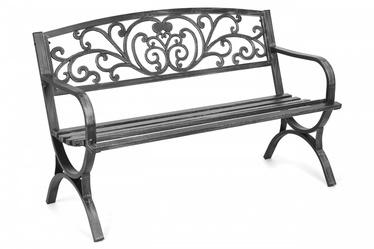 Скамейка Mportas, черный, 127 см x 58 см x 85 см