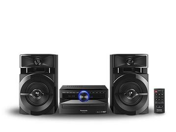 Mūzikas centrs Panasonic SC-UX102E-K, 300 W, melna