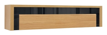 Skapis Black Red White Arosa Oak/Black
