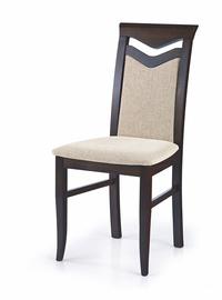 Ēdamistabas krēsls Halmar Citrone Brown/Sand, 1 gab.