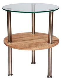 Kafijas galdiņš Signal Meble Ivet Sonoma Oak, 500x500x550 mm