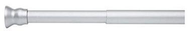 Ridder Corner Bar Telescopic Matt 110-185cm 25mm