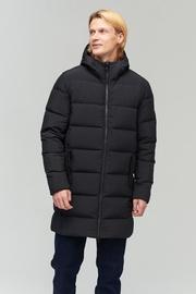 Audimas Puffer Down Mens Coat Black 200/L