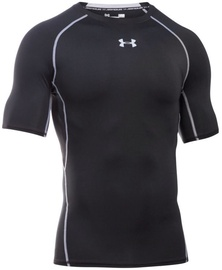 Under Armour Compression Shirt HG Armour SS 1257468-001 Black XXL