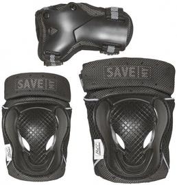 Aizsardzības Save My Bones Safety Set Black L
