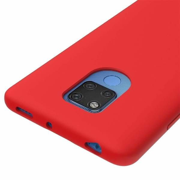 Hurtel Soft Flexible Back Case For Huawei Mate 20 Red