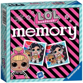 Galda spēle Ravensburger Memory LOL Surprise 20556, EN/EE/LV/LT/RUS