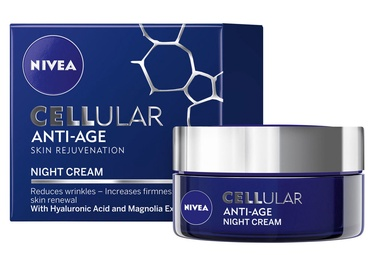 Sejas krēms Nivea Cellular Anti Age Night Cream, 50 ml