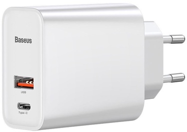 Baseus Speed PPS USB/USB Type-C Quick Charger White