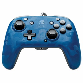 PDP Faceoff Deluxe+ Camo Blue