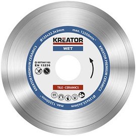 Kreator KRT081102 125x22.2mm Diamond Disc