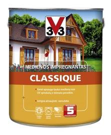 Impregnants v33 Classique, 2.5l, melnkoks