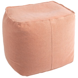 Pufs Home4you Jute Dusty Pink, 55x55x45 cm