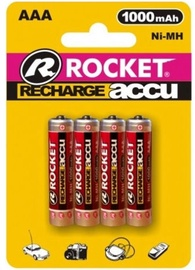 Rocket Recharge Accu HR03-4/BL AAA 4pcs