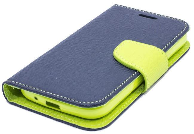 Telone Fancy Diary Bookstand Case Sony Xperia M4 Aqua Blue/Light Green