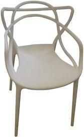 Ēdamistabas krēsls Verners Bordo 560x830x525mm White