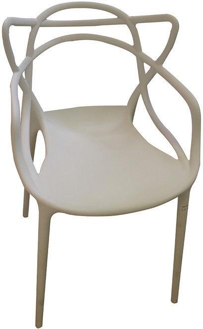 Стул для столовой Verners Bordo 560x830x525mm White