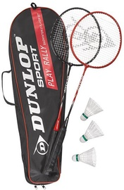 Dunlop Match Badminton Set Black/Red