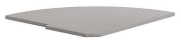 Skyland Imago PC-5.2L Reception Shelf 81.5x77.8x2.2cm Grey