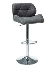 Bāra krēsls Signal Meble C-122 Dark Grey, 1 gab.