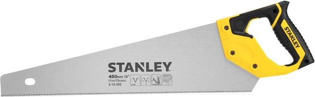 Rokas zāģis Stanley DynaGrip HP Fine JetCut Saw 450mm
