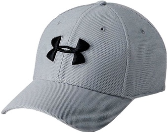 Under Armour Cap Men's Heathered Blitzing 3.0 Cap 1305037-035 Grey M/L