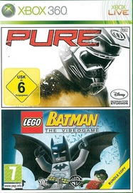 Pure and LEGO Batman: The Videogame Double Pack Xbox One Compatible Xbox 360