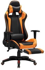 Halmar Office Chair Defender 2 Black/Orange