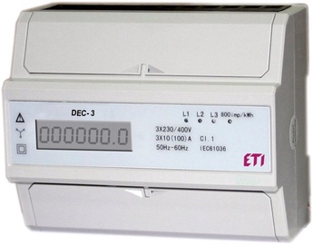 Skaitītājs ETI Electricity Meter Modular 3F DEC-3