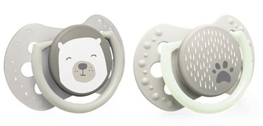 Lovi Dynamic Soother Silicone 2pcs Buddy Bear 22/864 3-6m