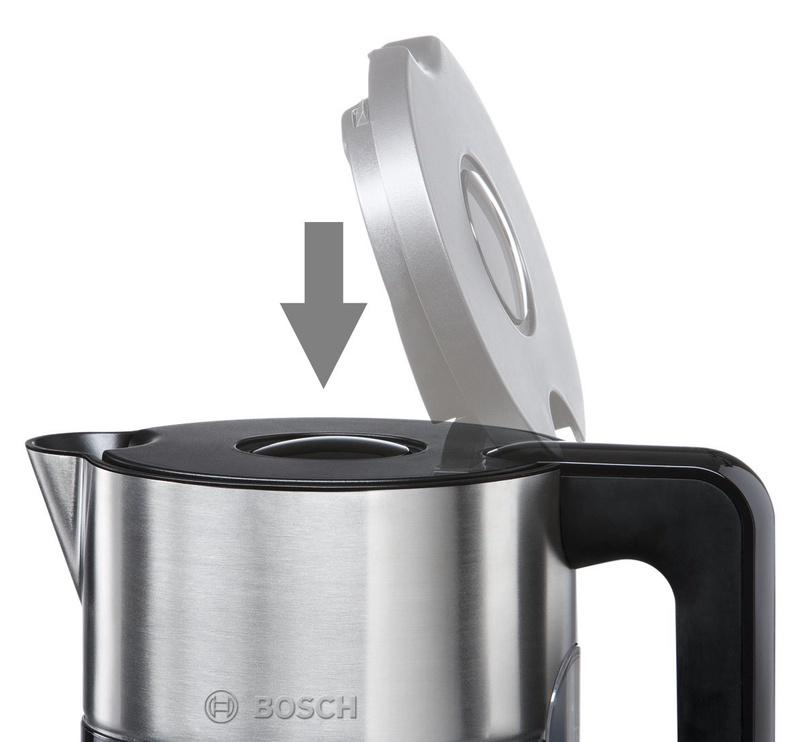 Elektriskā tējkanna Bosch TWK8613P, 1.5 l