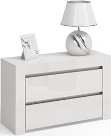 Ночной столик Top E Shop Deko D2 Max, белый, 80x40x57 см